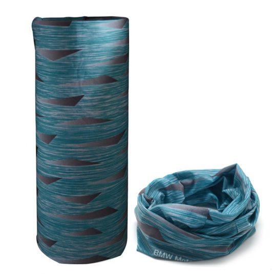 Blue pattern scarf bandana