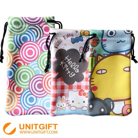 Custom Microfiber Pouch Bag