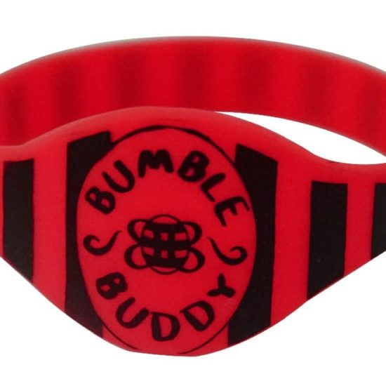 Deep-red-silicone-bracelet