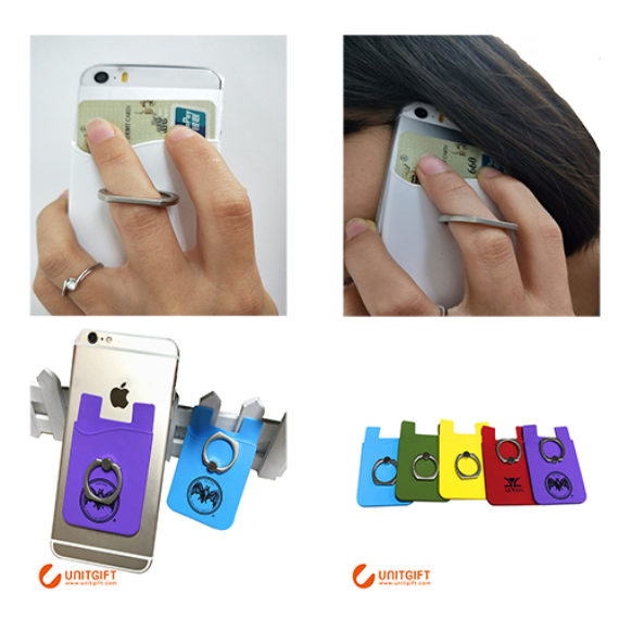 smart mobile stand card holder