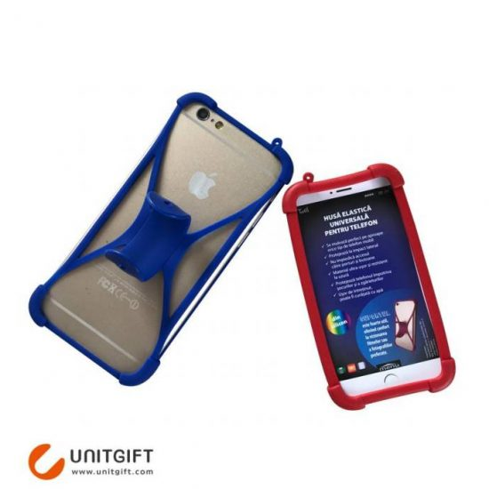 Silicone phone case with stand