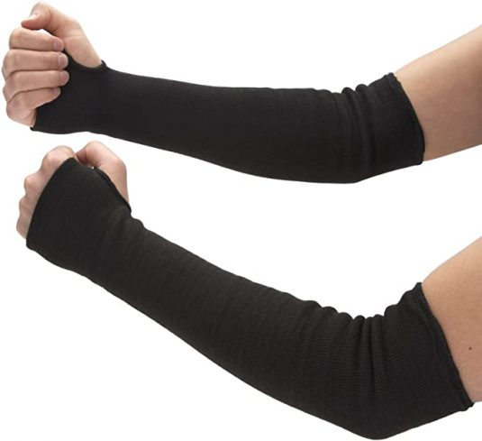 Heat Resistant Arm Sleeves For Cooking