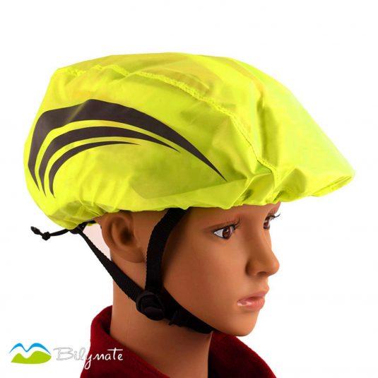 Bicycle helmet cover