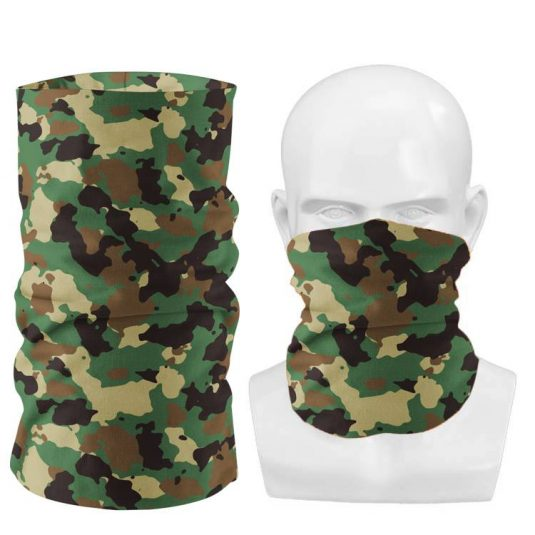 Custom neck gaiter wholesale