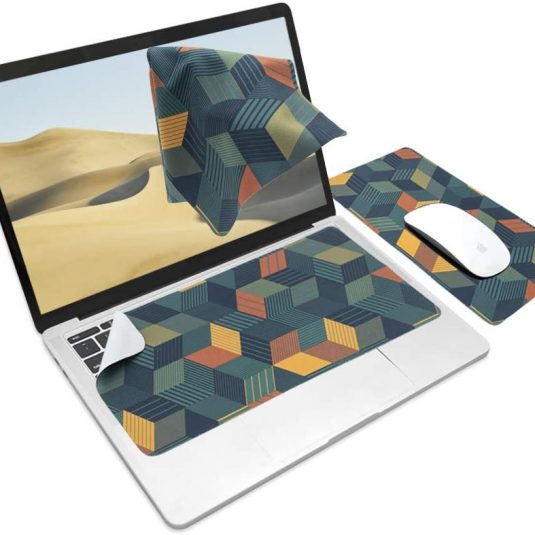 3 in 1 keyboard cover mouse pad